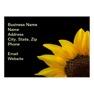 A Bold Sunflower Pack Of Chubby Business Cards