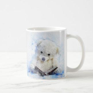 A Book at Bedtime - cute teddy bear design Coffee Mug