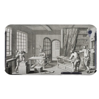 A bookmaker's workshop, from the 'Encyclopedie des Case-Mate iPod Touch Case