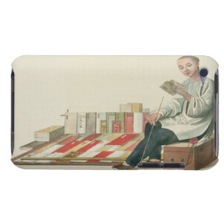 A Bookseller, plate 6 from 'The Costume of China', iPod Touch Covers