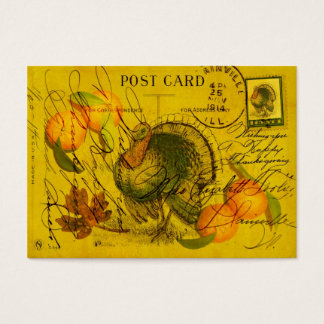 A Bountiful Thanksgiving Gift Tag