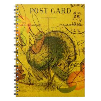 A Bountiful Thanksgiving Spiral Notebooks