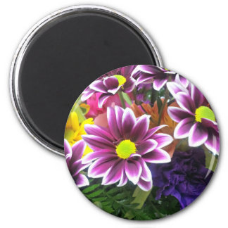 A Bouquet For You 6 Cm Round Magnet