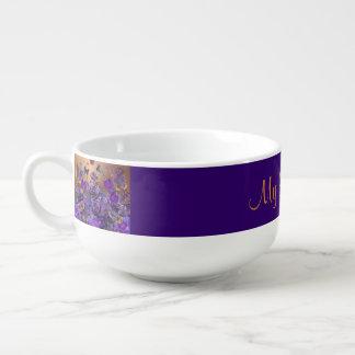 A Bouquet of Butterflies Soup Mug