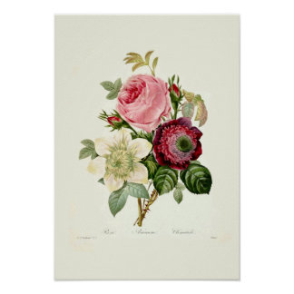A Bouquet Of Flowers Poster