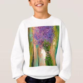 A bouquet of lavender sweatshirt