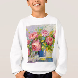 A bouquet of roses sweatshirt