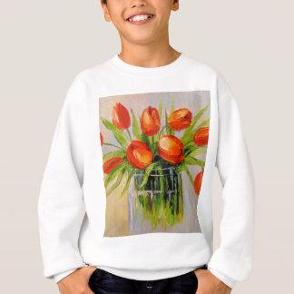 A bouquet of tulips sweatshirt
