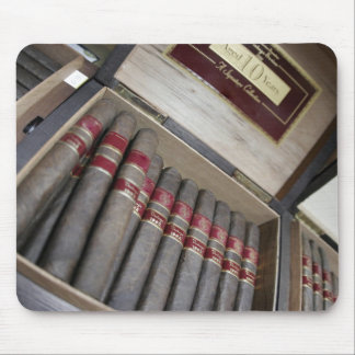 A box of cigars mouse mats
