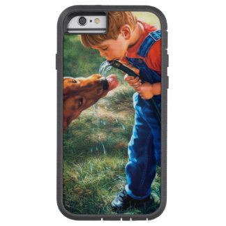 A Boy and his Dog Water Hose Thirst Colorful Tough Xtreme iPhone 6 Case