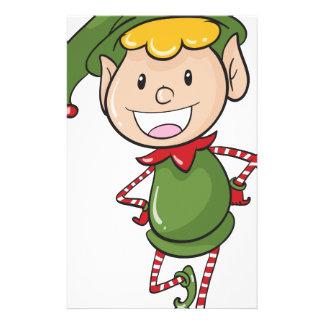 a boy in green joker dress stationery