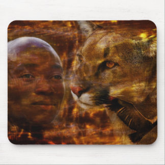 A brave warrior in South Africa Mouse Pad