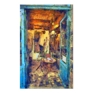 A Breton Home Photographic Print
