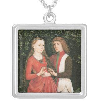 A Bridal Pair ~ artist unknown Necklaces