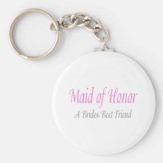 A Bride's Best Friend Basic Round Button Key Ring