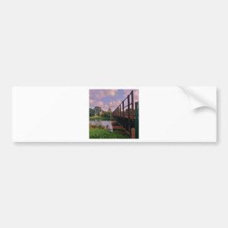 A bridge too far? bumper sticker