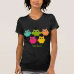 A Bright Bunch of Owls T-Shirt