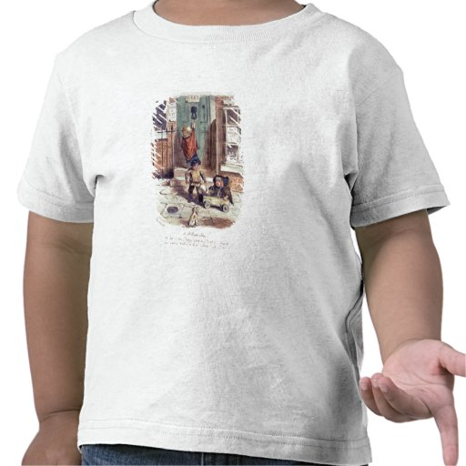 A Brilliant Idea (pen and coloured ink on paper) T-shirts