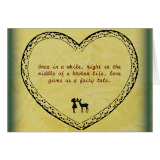 A Broken Life Fairytale 2 Card