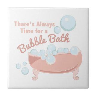 A Bubble Bath Tile