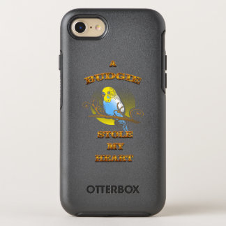 A Budgie Stole My Heart OtterBox Symmetry iPhone 8/7 Case