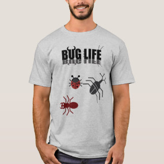 A Bug life with beetle, ant and ladybug. T-Shirt