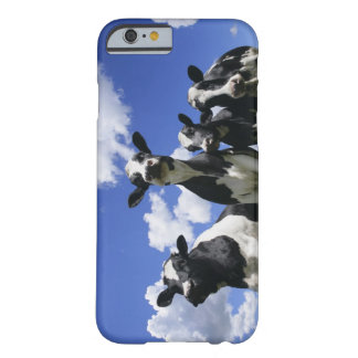 A bugs eye view of four young calves barely there iPhone 6 case
