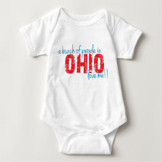 A bunch of people in Ohio love me!! Baby Bodysuit