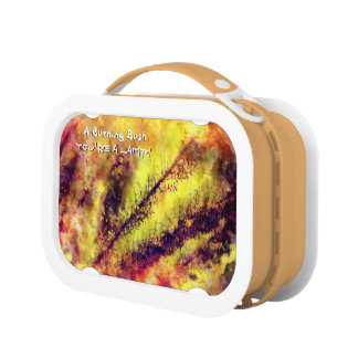 A Burning Bush Lunch Box