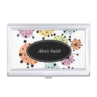 A Burst of Color Business Card Cases