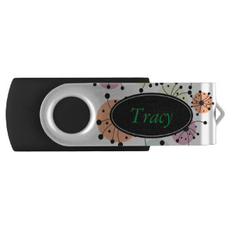 A Burst Of Color Swivel USB 3.0 Flash Drive