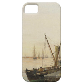 A busy harbour by Konstantinos Volanakis Barely There iPhone 5 Case