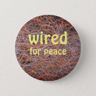 a button for the peaceful ones