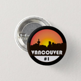 A button with a Silhouette of Vancouver skyline