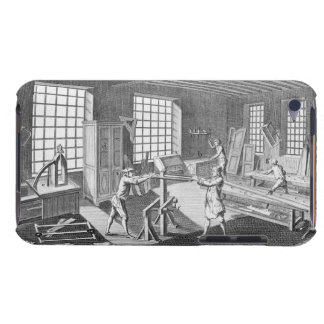 A cabinet maker's workshop, from the 'Encyclopedie iPod Case-Mate Cases