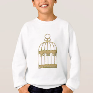 A cage is a cage even if it's beautiful sweatshirt