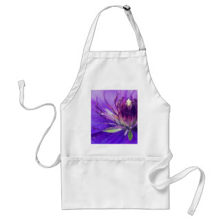 A Calyx of Blue Floral Photography Fine Art Nature Standard Apron