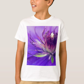 A Calyx of Blue Floral Photography Fine Art Nature T-Shirt