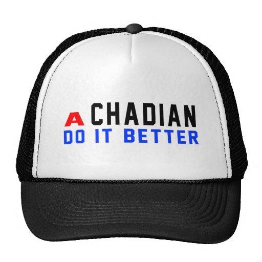 A Canadian Do It Better Trucker Hat
