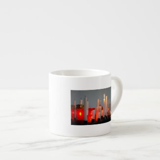 A Candle for Peace Espresso Mug
