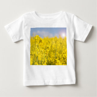 A canola field in spring baby T-Shirt