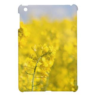 A canola field in spring iPad mini cases