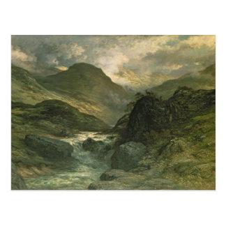 A Canyon, 1878 Postcard