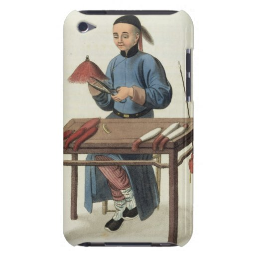 A Cap Maker, plate 51 from 'The Costume of China', iPod Case-Mate Cases