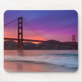 A capture of San Francisco's Golden Gate Bridge Mouse Pad