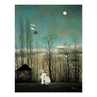 A Carnival Evening Henri Rousseau Posters