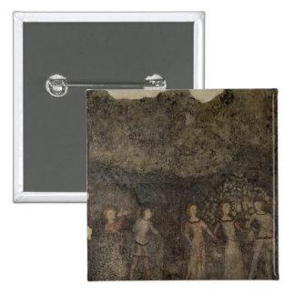 A Carole, c.1380-90 15 Cm Square Badge