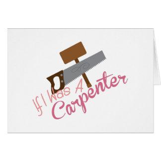 A Carpenter Card