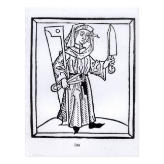 A Carpenter Post Card