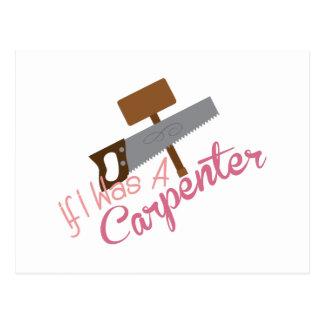 A Carpenter Postcard
